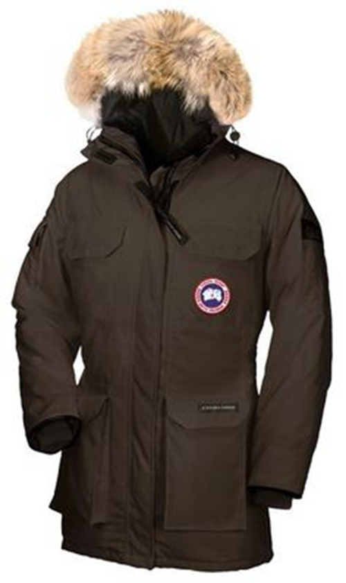 Canada Goose Expedition Parka Brown Womens Clearance